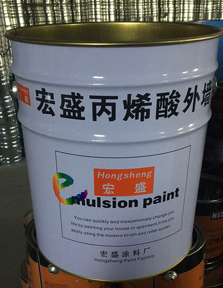 丙烯外墙漆铁桶