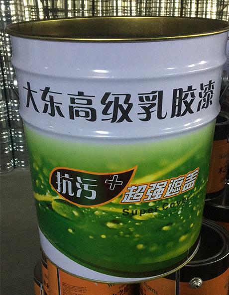 乳胶漆铁桶
